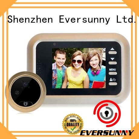 Eversunny angle best digital peephole power-saving for Aluminum alloy door