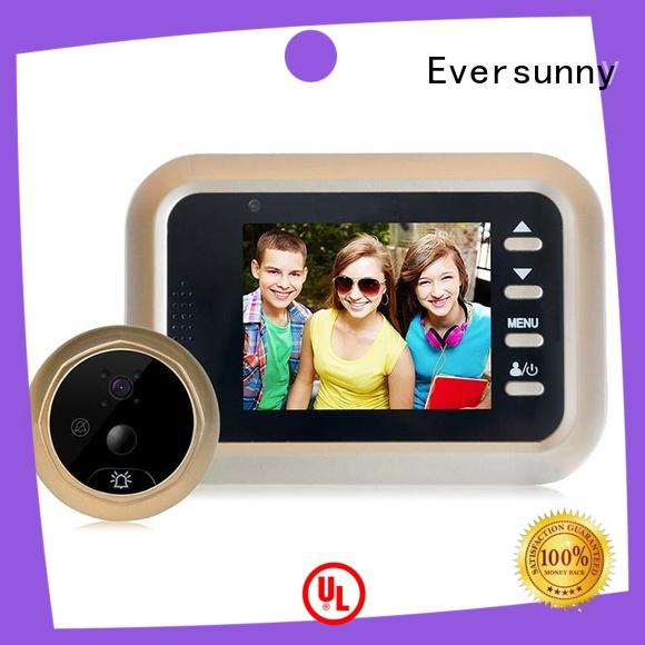 Eversunny professional door motion sensor LCD for home