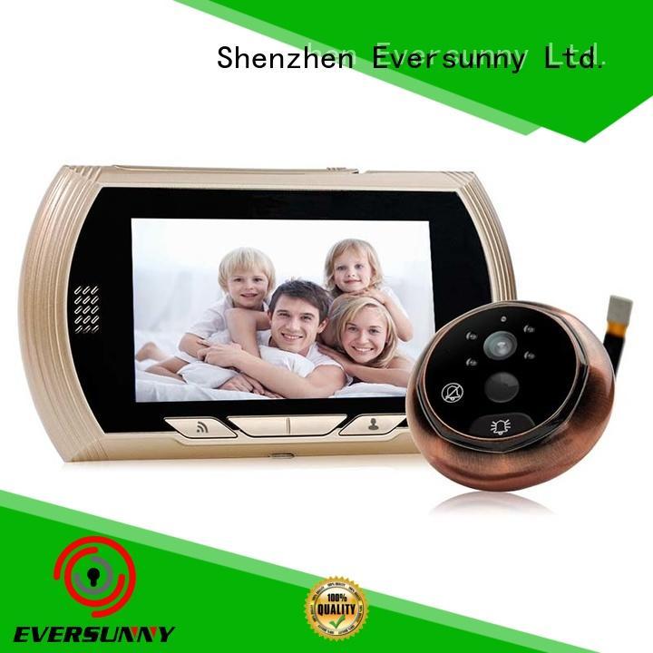 Eversunny door wifi peephole door viewer digital HD for home