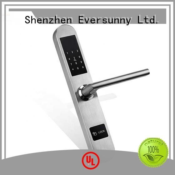 Eversunny multiple-digit password door lock system entry home for door