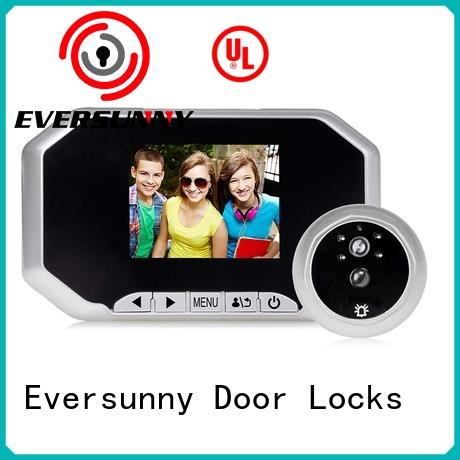 Eversunny lcd door viewer Large angle for front door