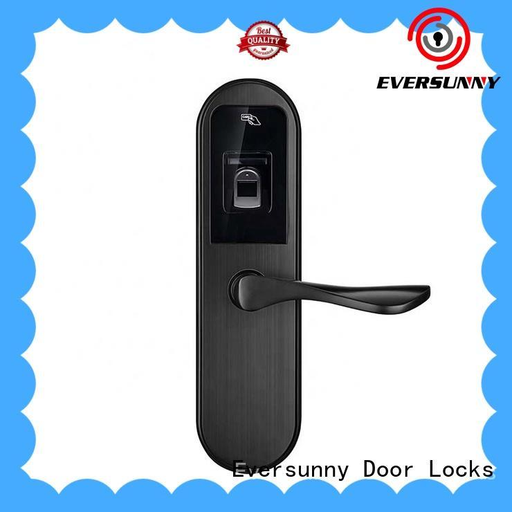 Electronic Zinc alloy Finger Scanner Door Lock for wooden door