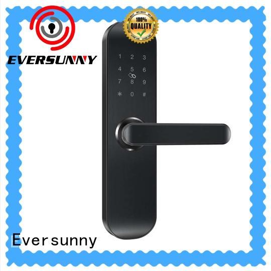 Eversunny security key code door lock energy-saving for office