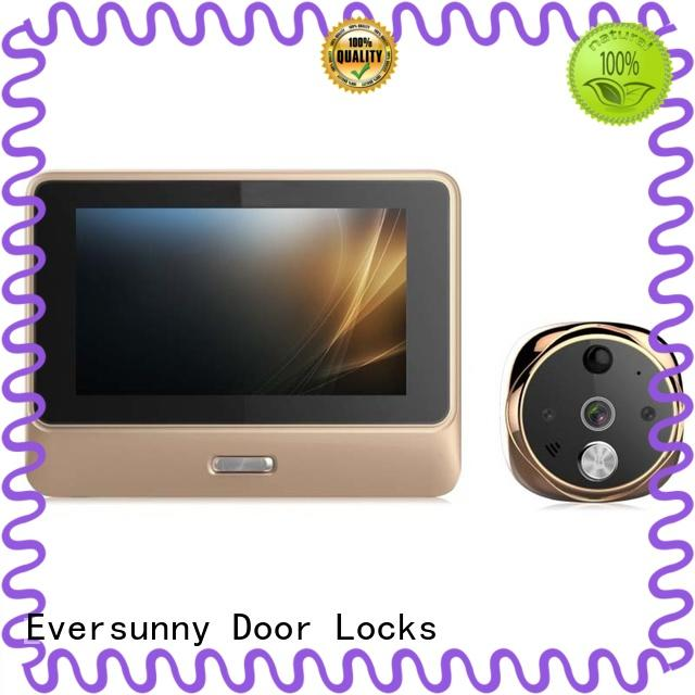 Eversunny convenient wifi peephole door viewer digital HD for peepholecam