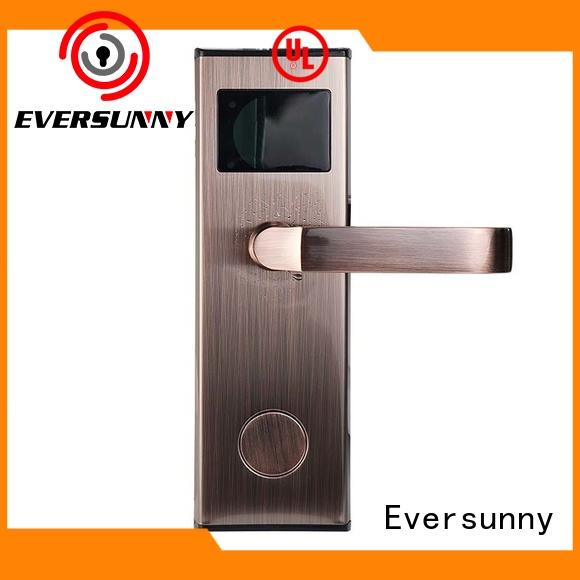 Eversunny key key card entry system with central management control system for apartment