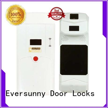 wireless electronic door lock with remote energy-saving for residence