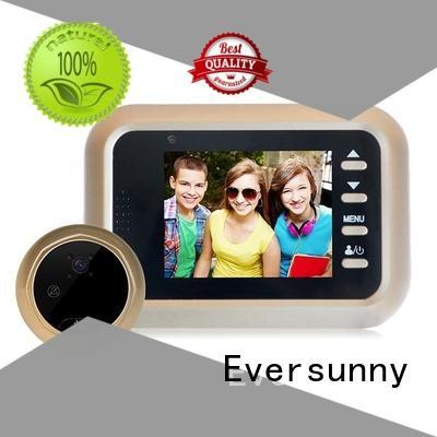 electronic digital peephole viewer camera Intelligent for aluminium door