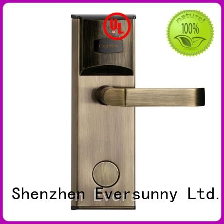 safe key card door lock energy-saving for door