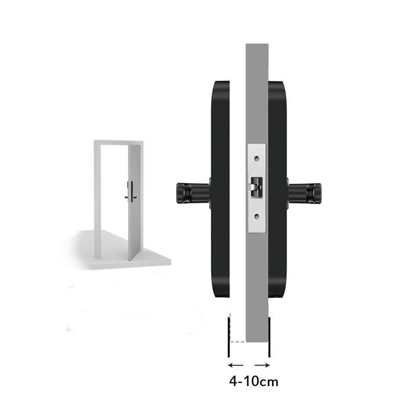 Eversunny finger scan door lock front door for house-11