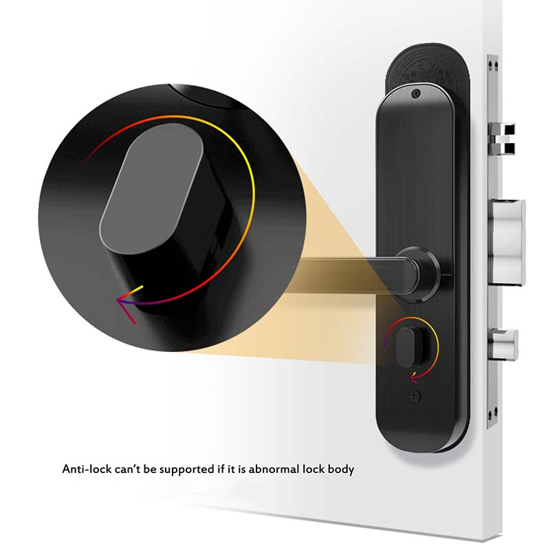 Eversunny biometric door lock front door for house-7