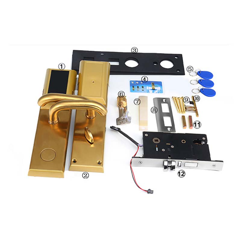 Eversunny bridge locks with code entry home for door-6