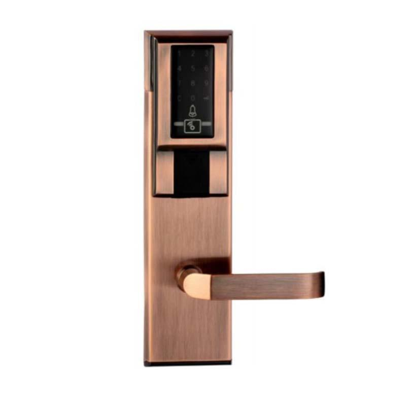 Handle digital Security Code Door Entry Lock  Keypad Deadbolt