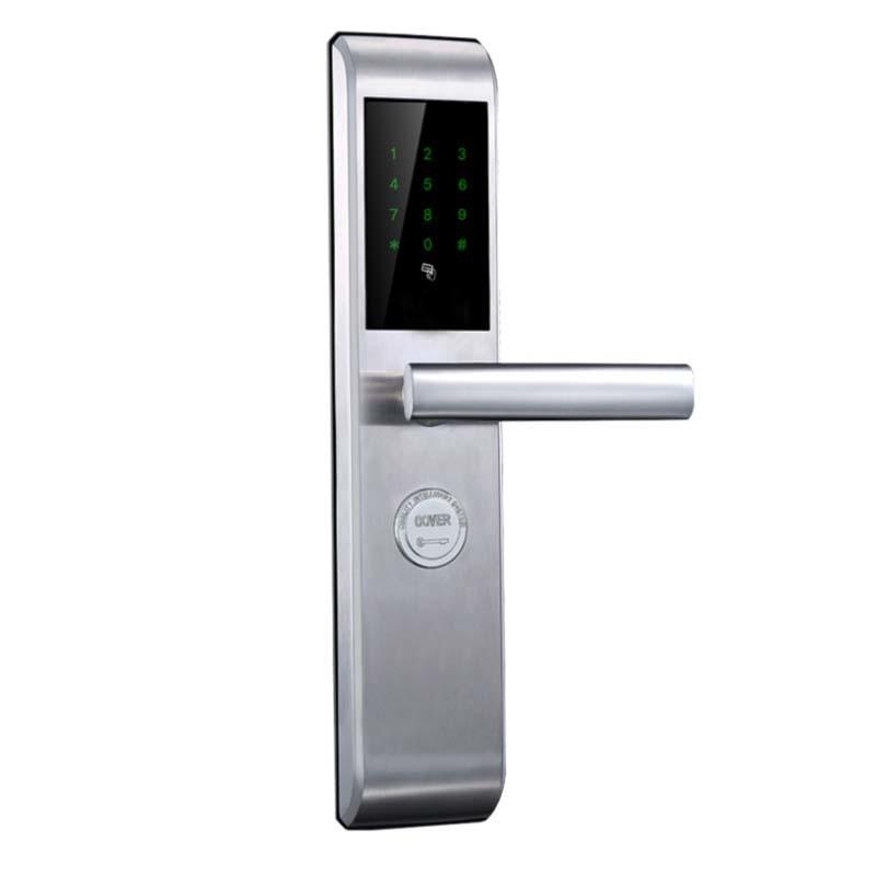 Smart Code Door Lock Fingerprint and Touchscreen Keyless with Visual Menu Display