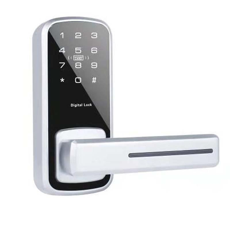 Intelligent front door lock with code small type password keypad