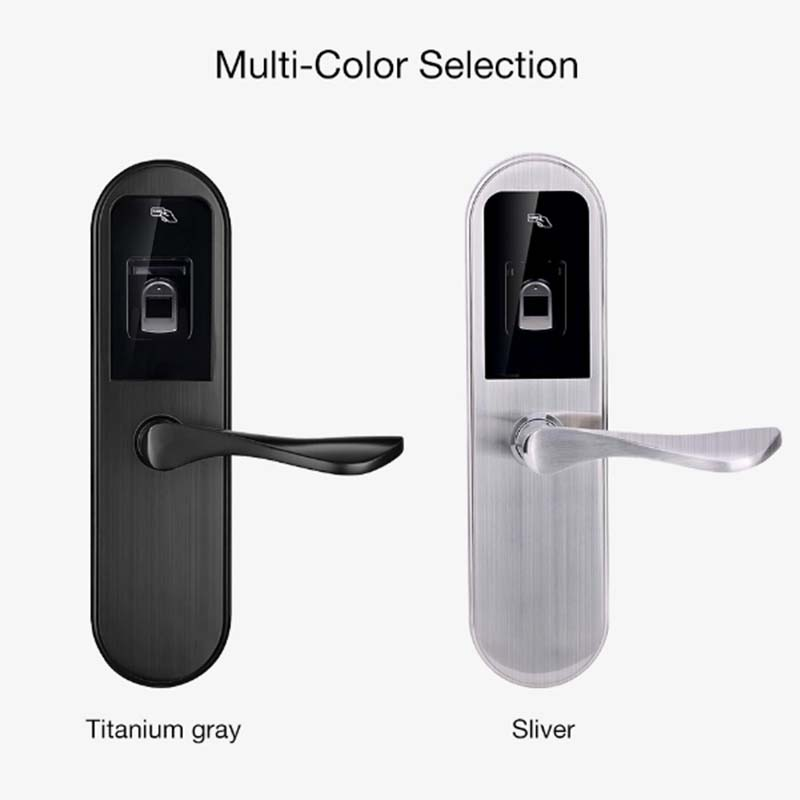 Eversunny smart fingerprint lock handle for office-5