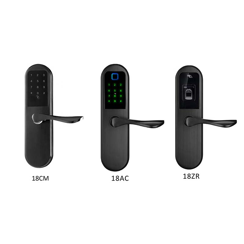 Eversunny smart fingerprint lock handle for office-6