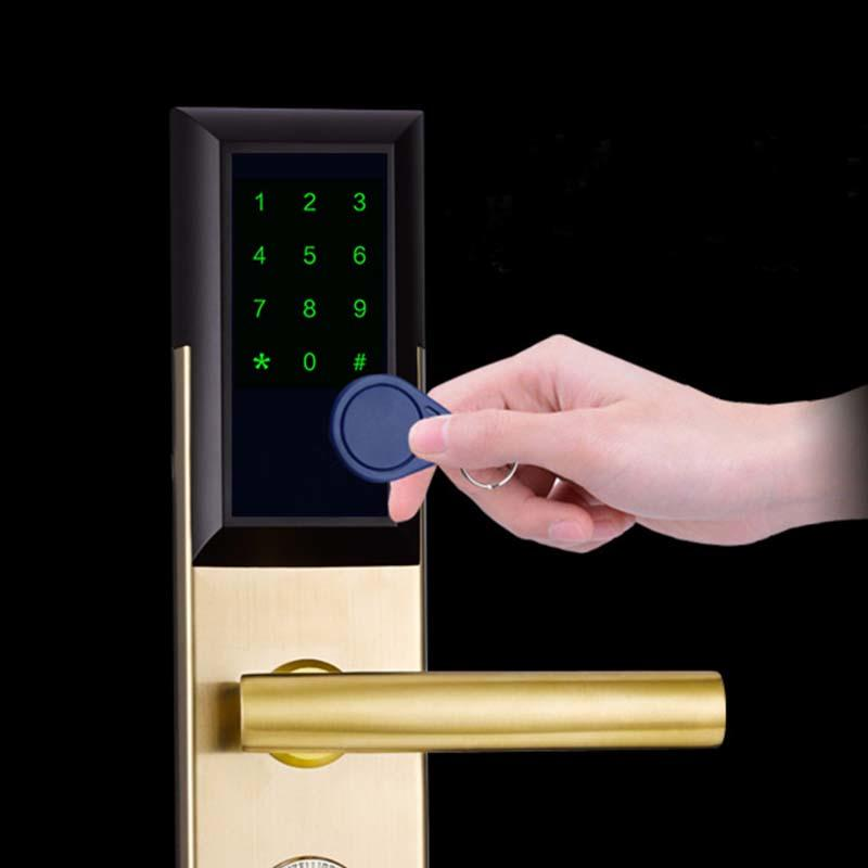 multiple-digit key code lock touch screen for office