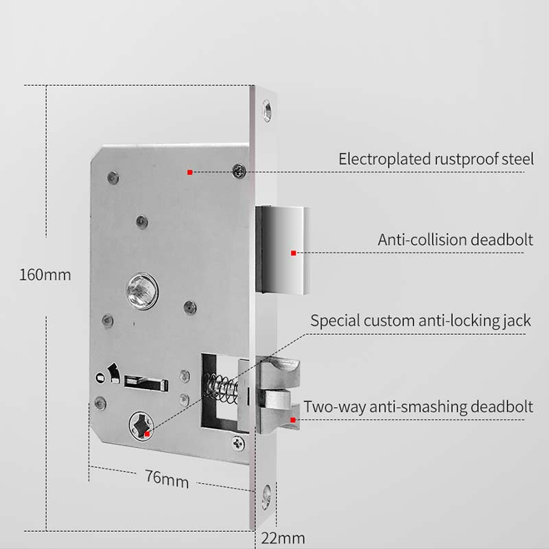 electronic password door lock digital entry home for door-10