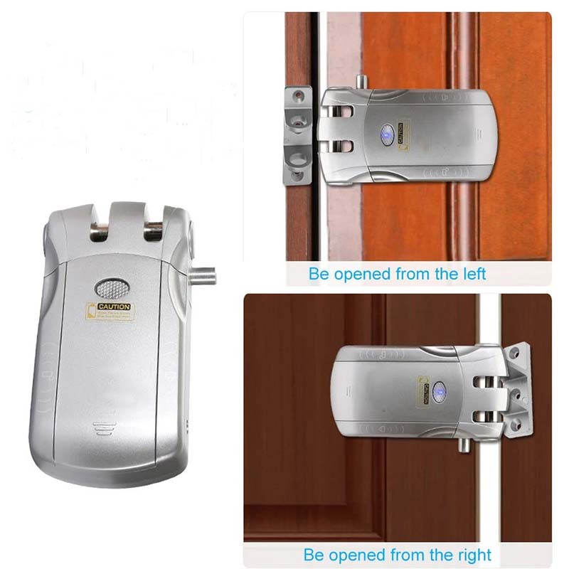 safe wifi remote door lock energy-saving for cottage-9