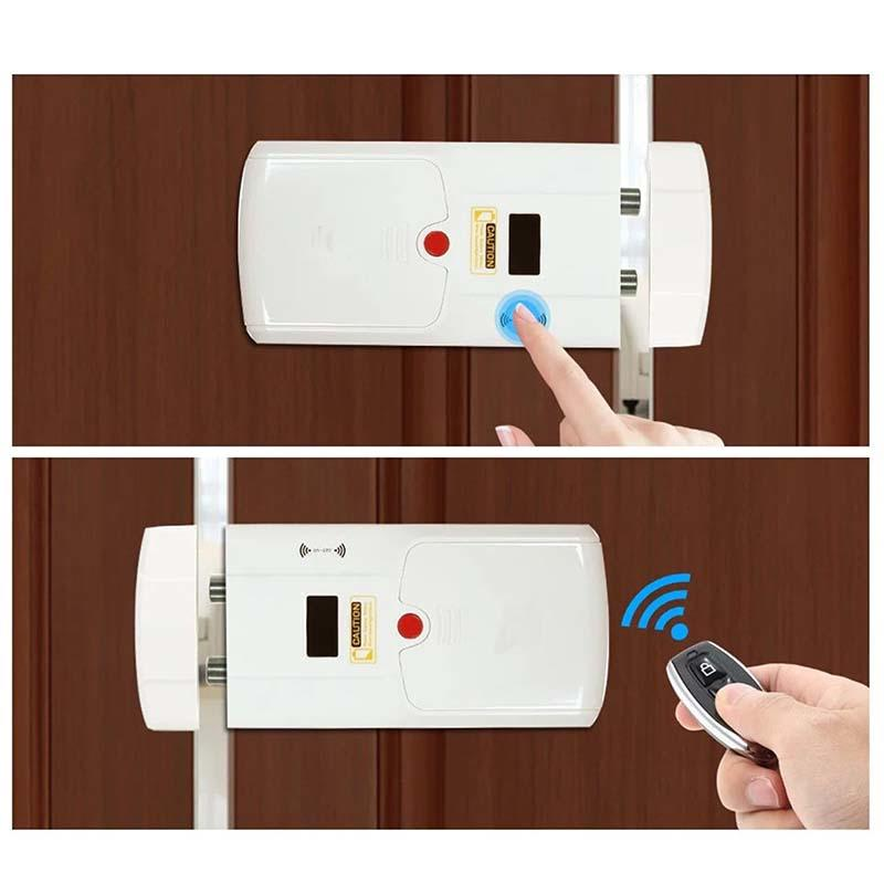 Eversunny remote control door locks for house energy-saving for home