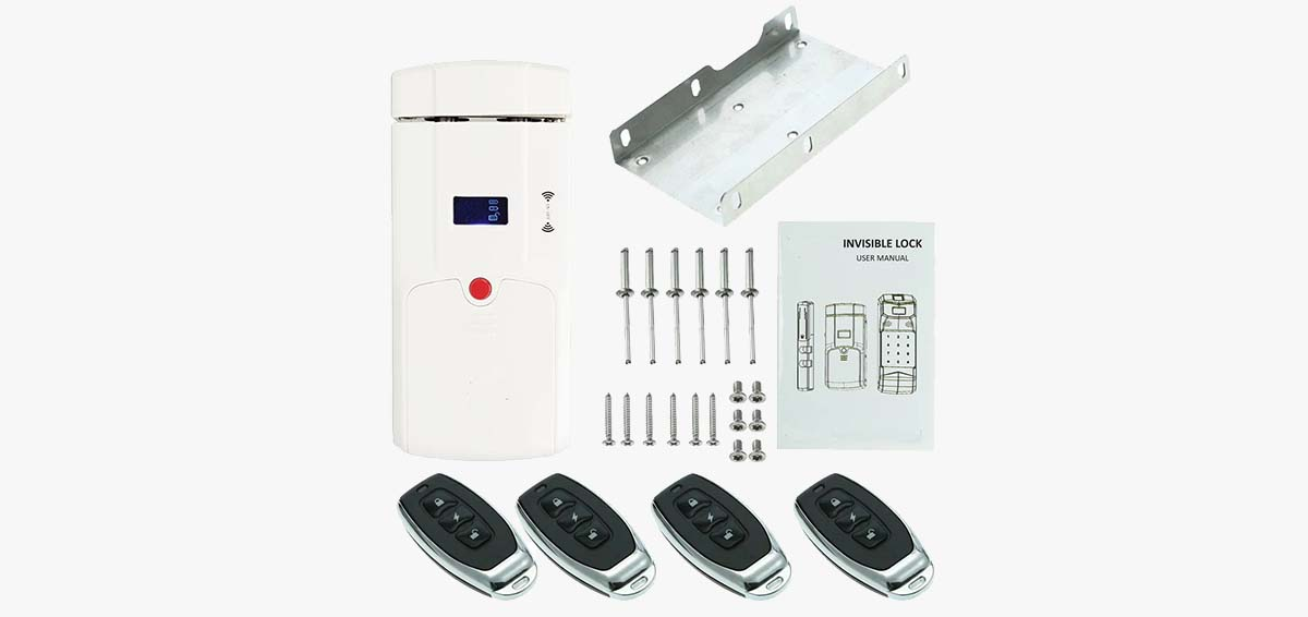 Eversunny safe hidden door lock mobile controlled for house-1