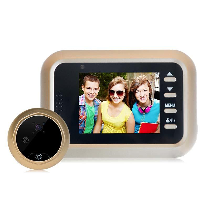 2.4 inch screen intelligent Peephole Door Viewer with Anti-theft W8