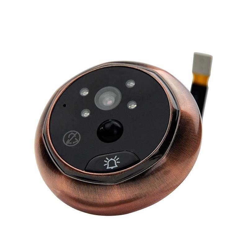 Remote control  digital HD visual wifi peephole  43HD