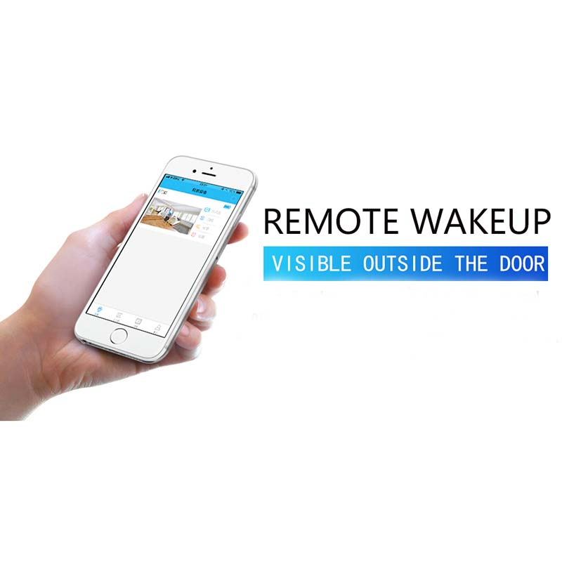 Eversunny control wifi door peephole prevent damage for office-8