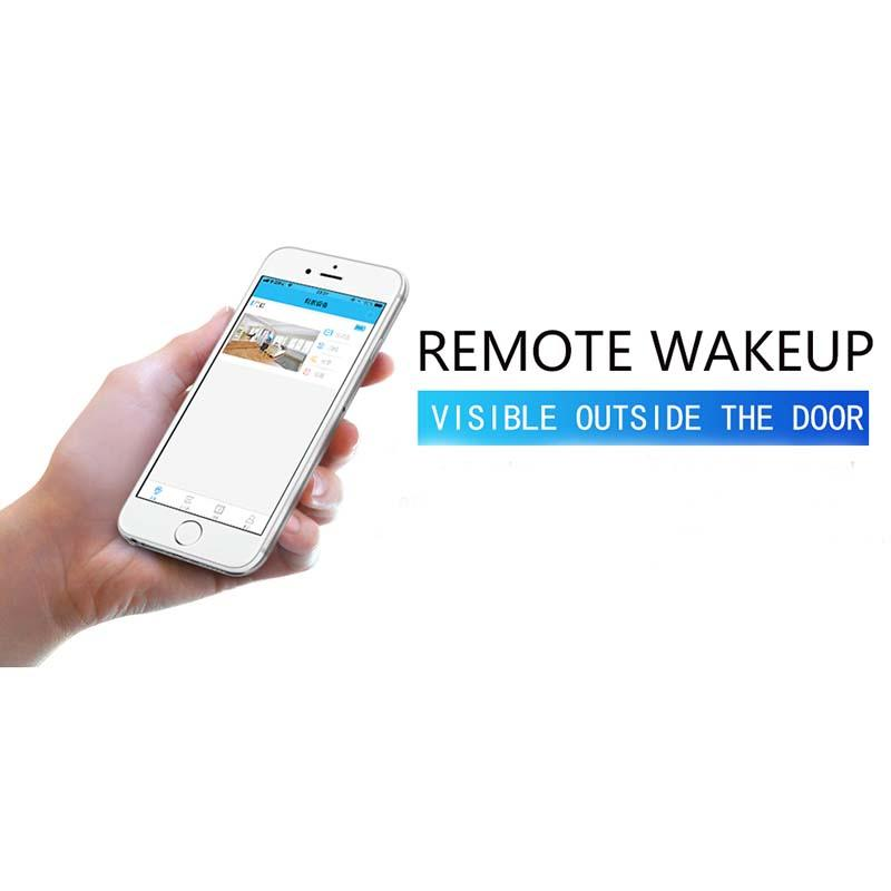 Eversunny electronic digital peephole wifi prevent damage for home