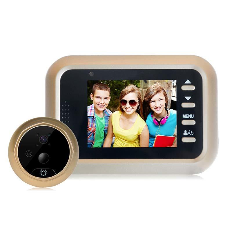 2.4 inch Peephole Viewer Color Screen  with motion detection Q8