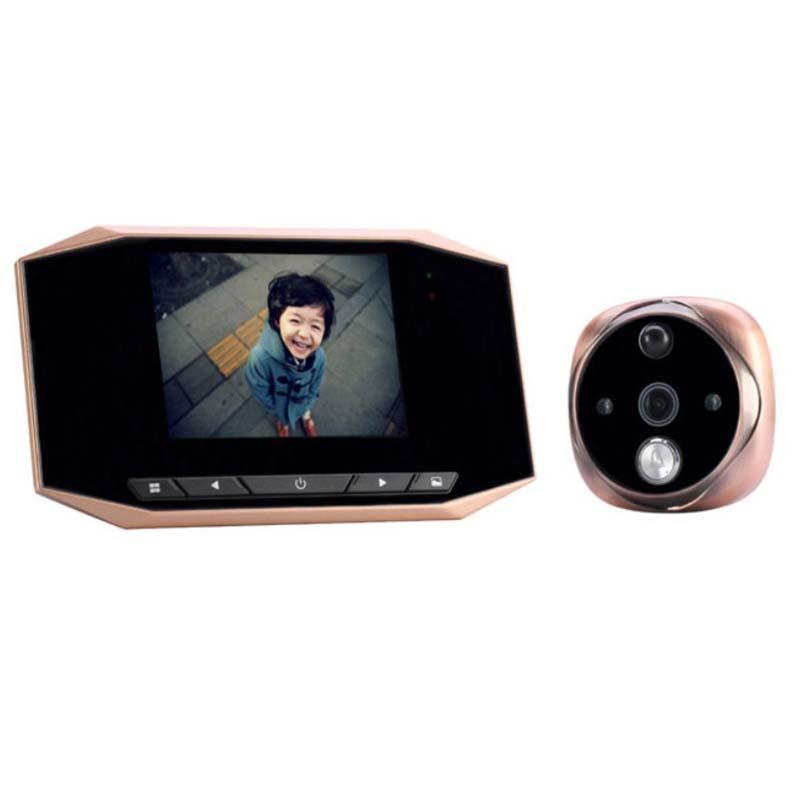3.5 LCD Digital Video Screen door Viewer with IR Night Version  F25