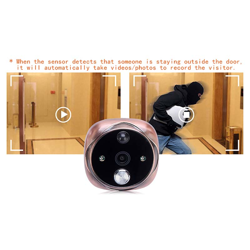 Visual Peephole peephole viewer Energy-saving for home-1