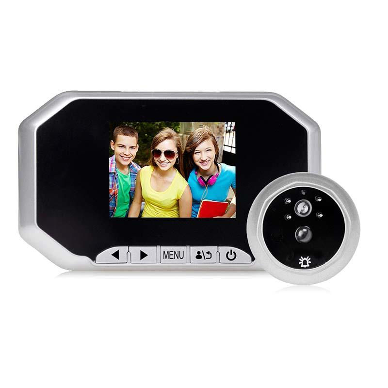 Motion detection smart peephole door viewer 30AH
