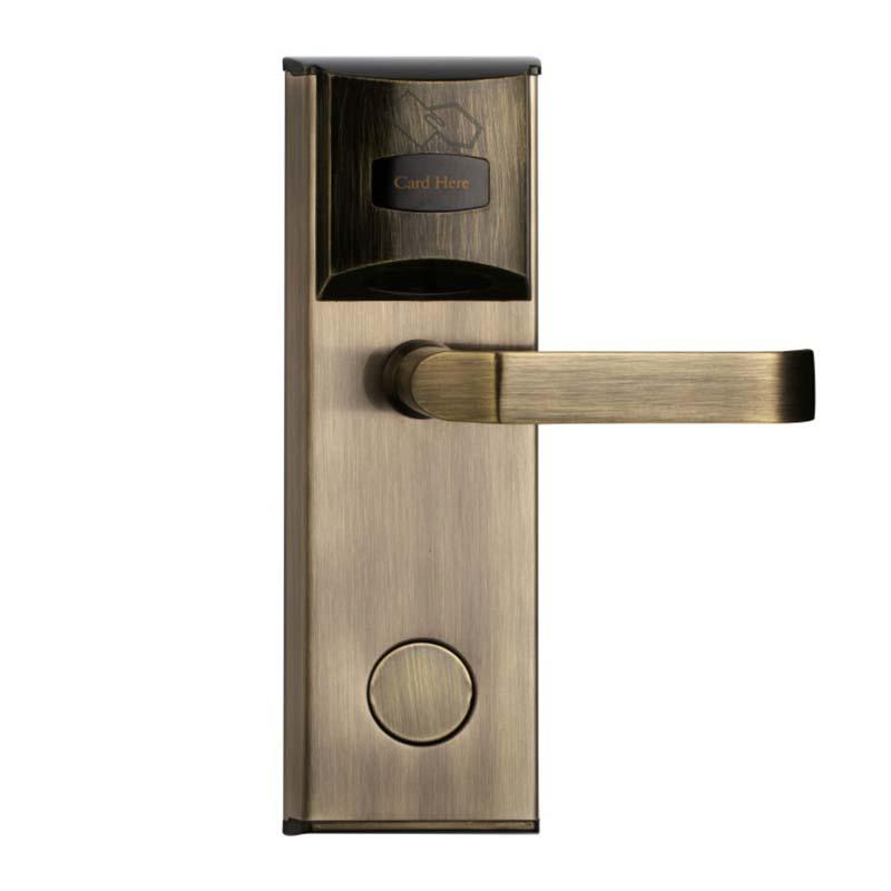 Digital Door Lock Card Key Unlock Stainless Steel  for hotel and apartment KB101