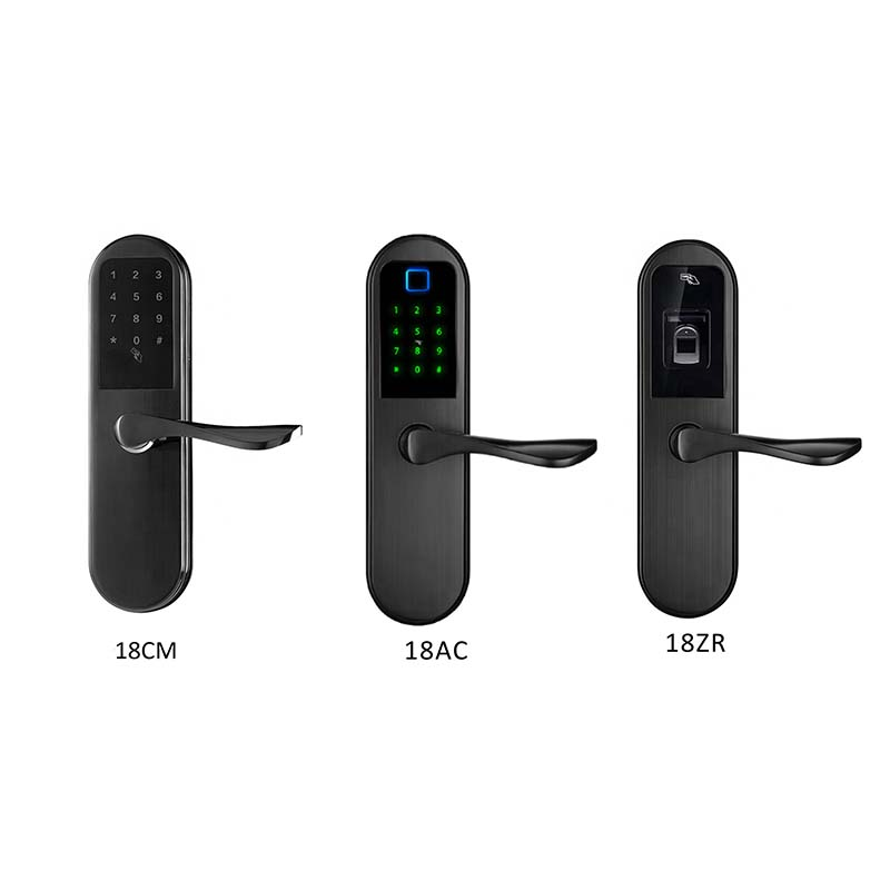 Eversunny security passcode door handle security for apartment-4