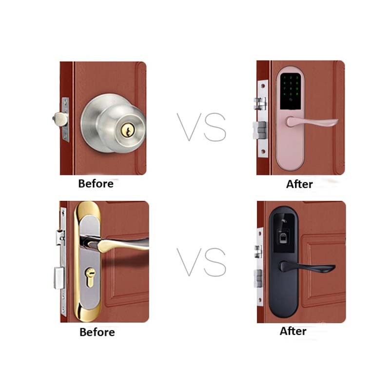 Eversunny security passcode door handle security for apartment-7