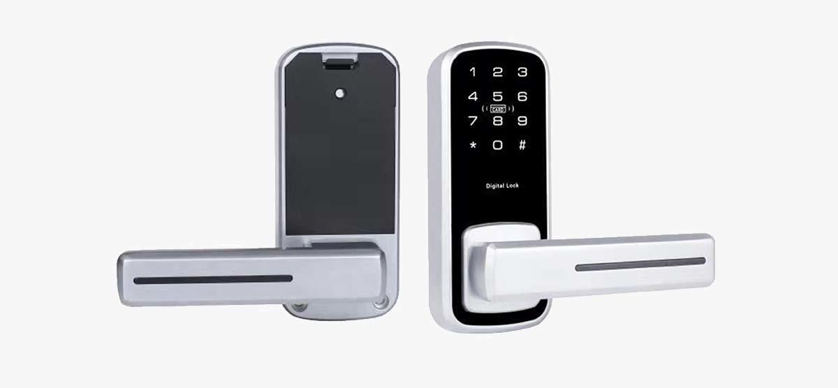 Eversunny keyless code entry locks touch screen for apartment