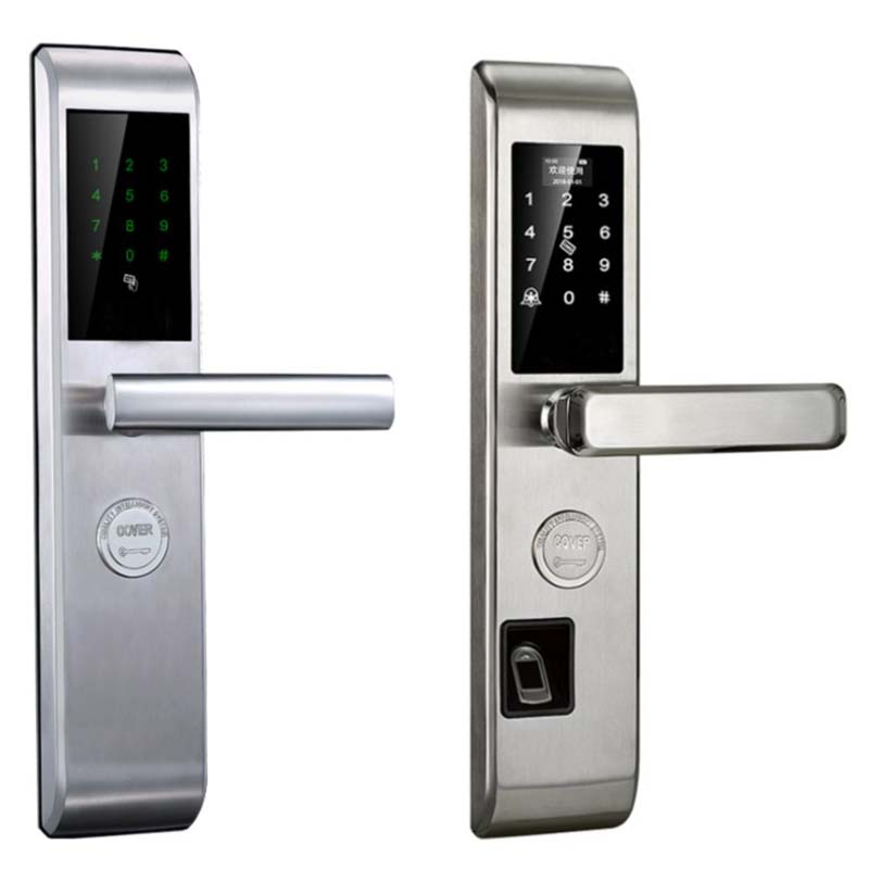 Eversunny front security lock touch screen for hotel-4