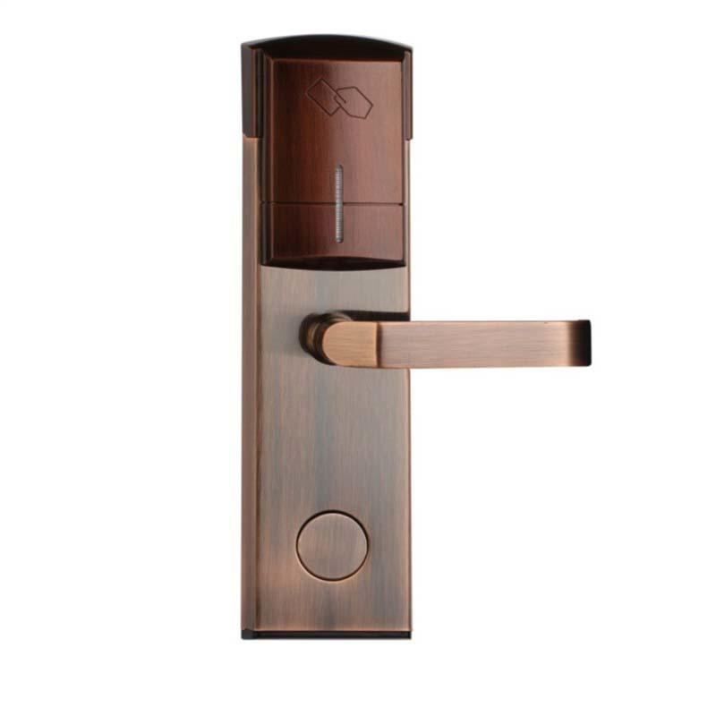 Electromagnetic  smart card door Lock for hotel and apartment