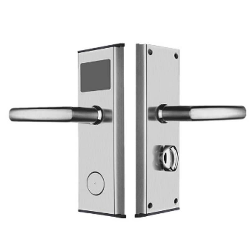 Electronic card key door lock stainless steel  for hotel KB100