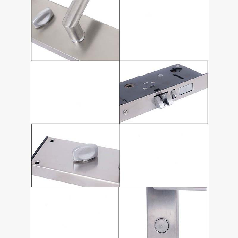 Electronic card access locks stainless steel for door-4