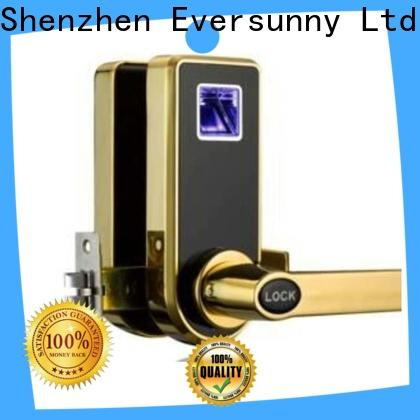 Eversunny durable biometric finger lock entry system for interior rooms
