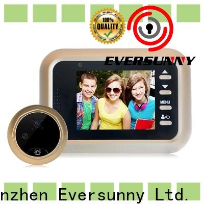 Eversunny multiple-digit best digital peephole viewer with wide angle for Aluminum alloy door