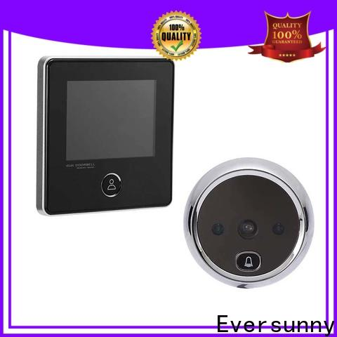 Eversunny digital peephole with wide angle for sliding door