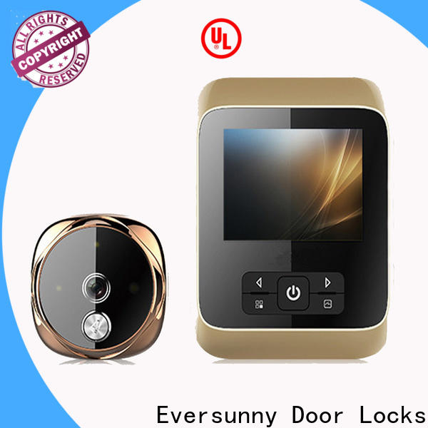 smart best digital peephole viewer with wide angle for aluminium door