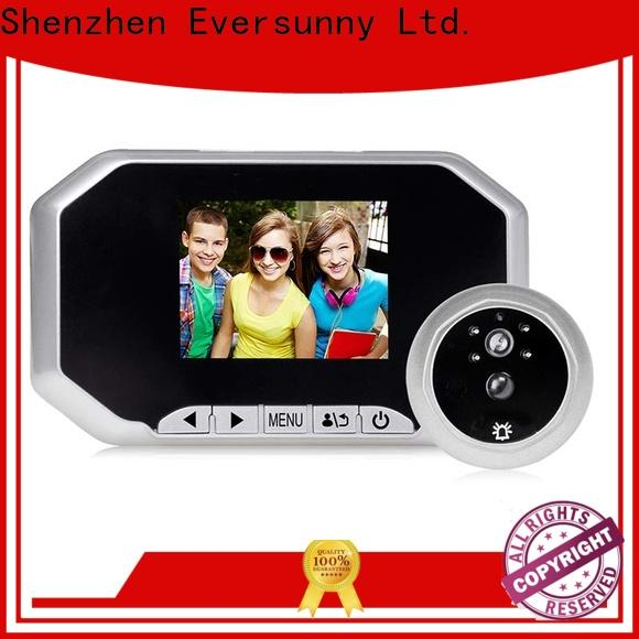 Eversunny lcd peephole lens for home
