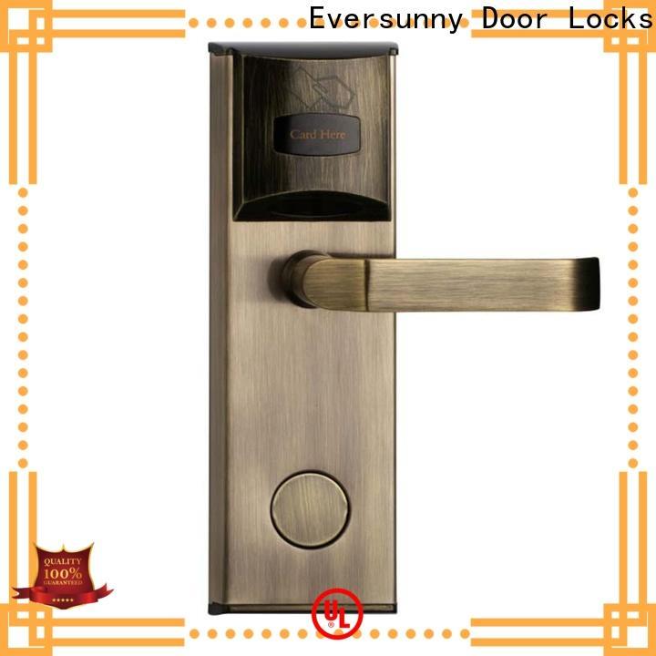 Eversunny smart hotel key card lock energy-saving for apartment