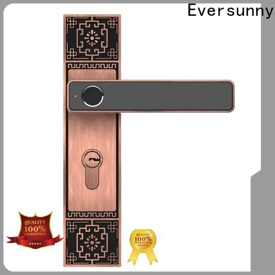 Eversunny best fingerprint sensor lock handle for interior rooms