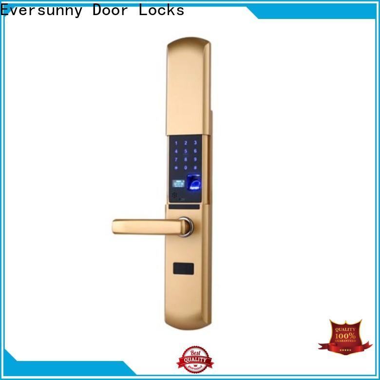 Eversunny reliable top fingerprint lock front door for house