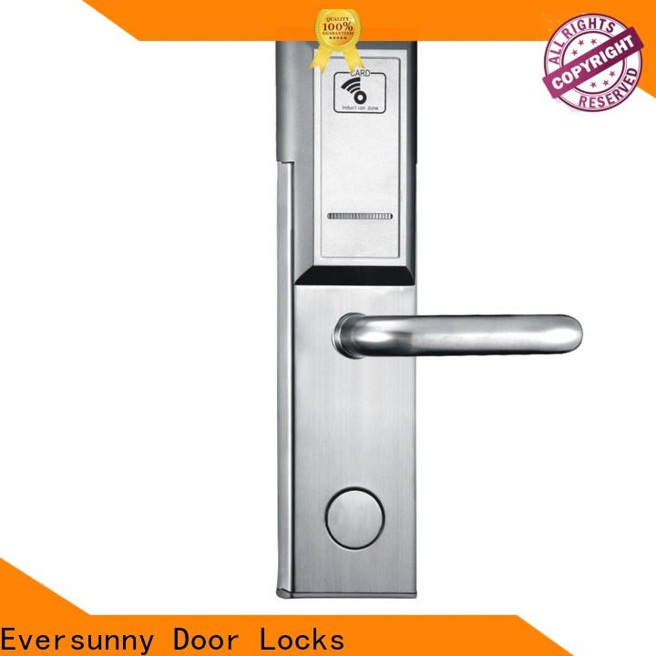 Eversunny key card door entry systems stainless steel for hotel